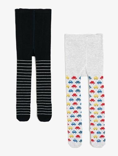 Koton Kids Külotlu Çorap Renkli